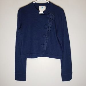 Anthropologie Sparrow Wool Blazer Sweater